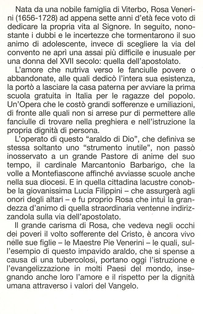 Rosa Venerini RETRO