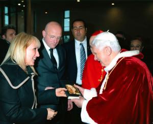 Rita Pomponio Benedetto XVI